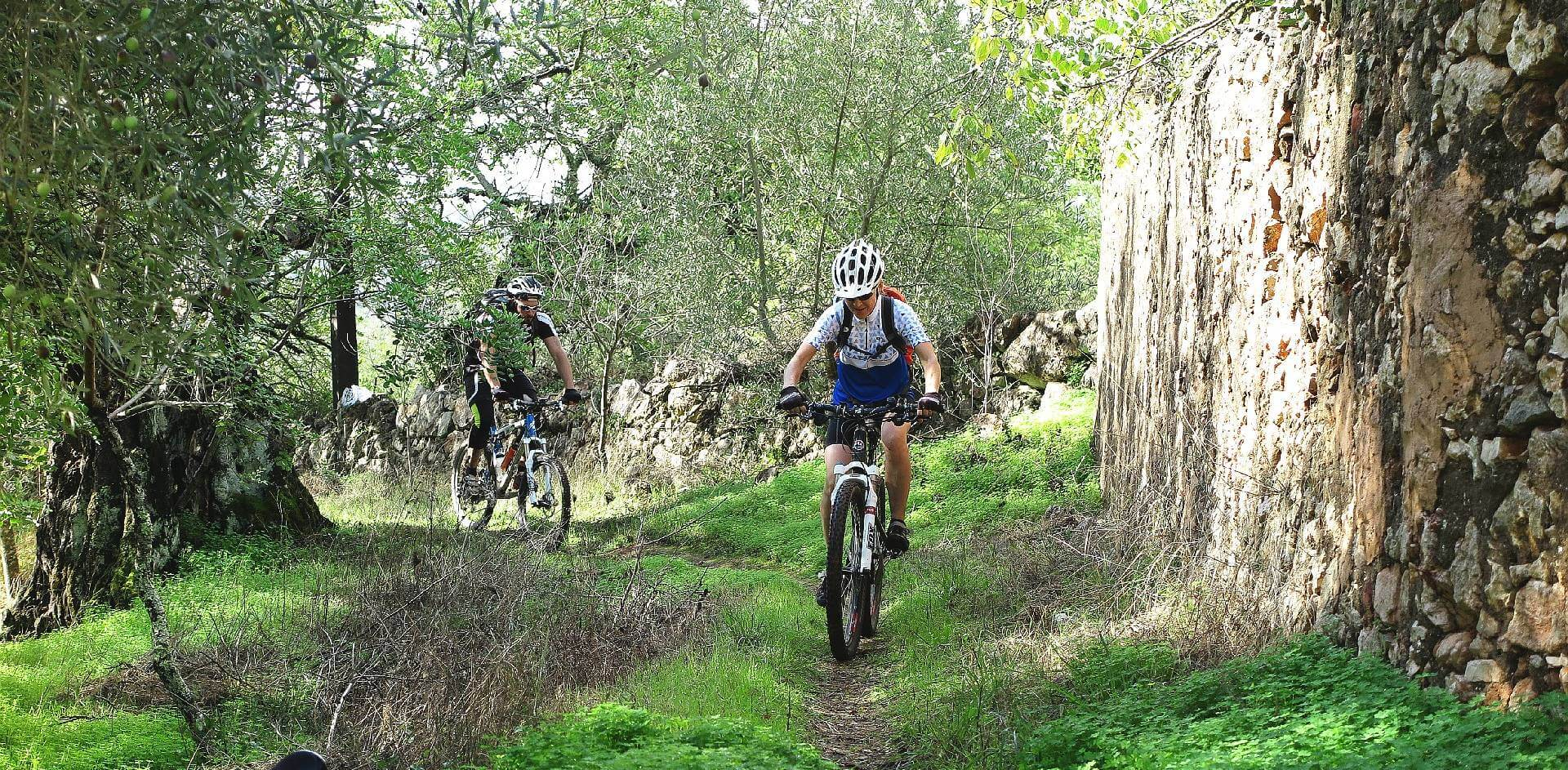 algarve downhill off-road ride