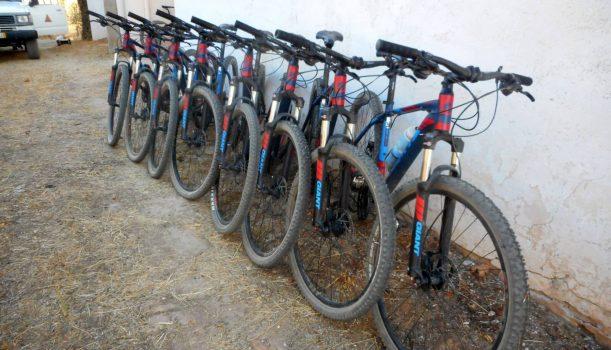 Fahrradverleih mit Routen