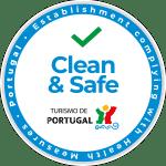 logótipo portugal selo limpo e seguro