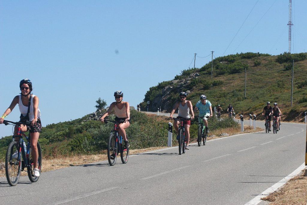 ciclismo de descida em Monchique