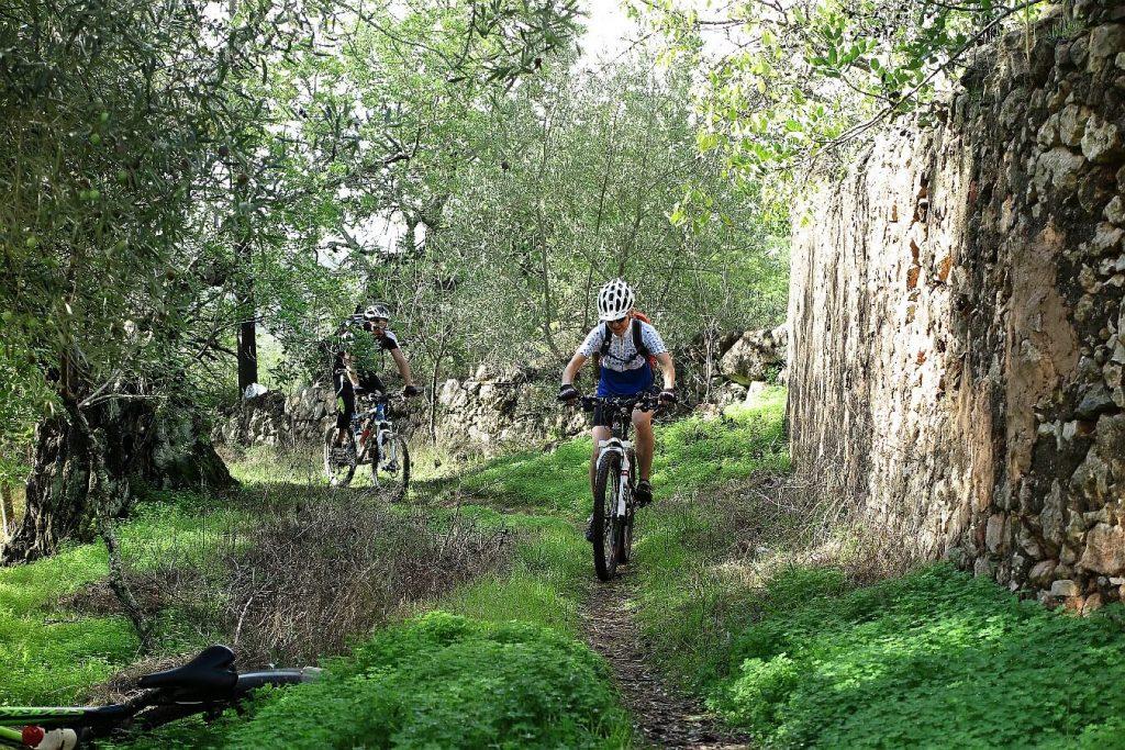 ciclismo de uma só pista em monchique
