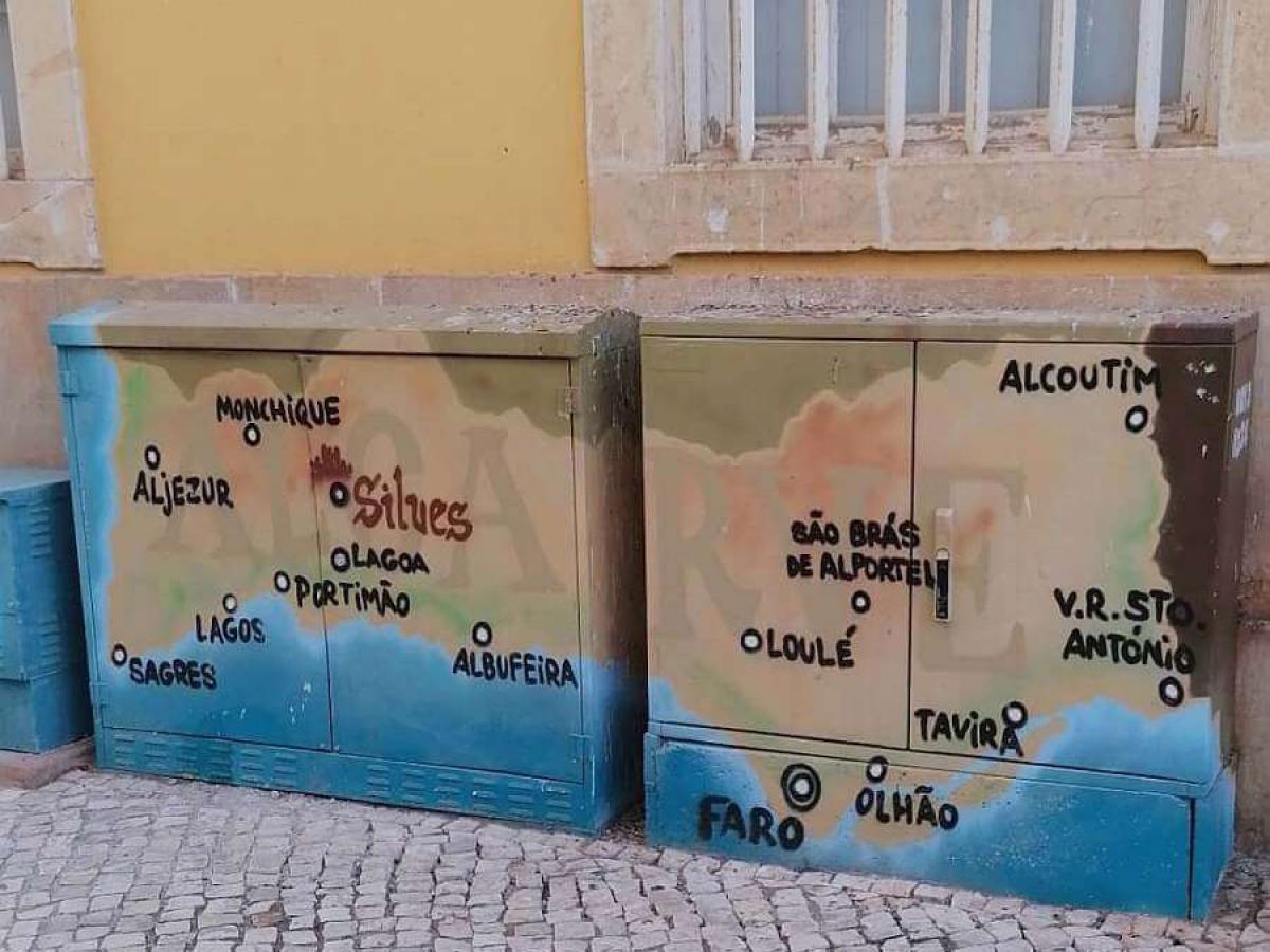 Lagos Walking Tour paint art
