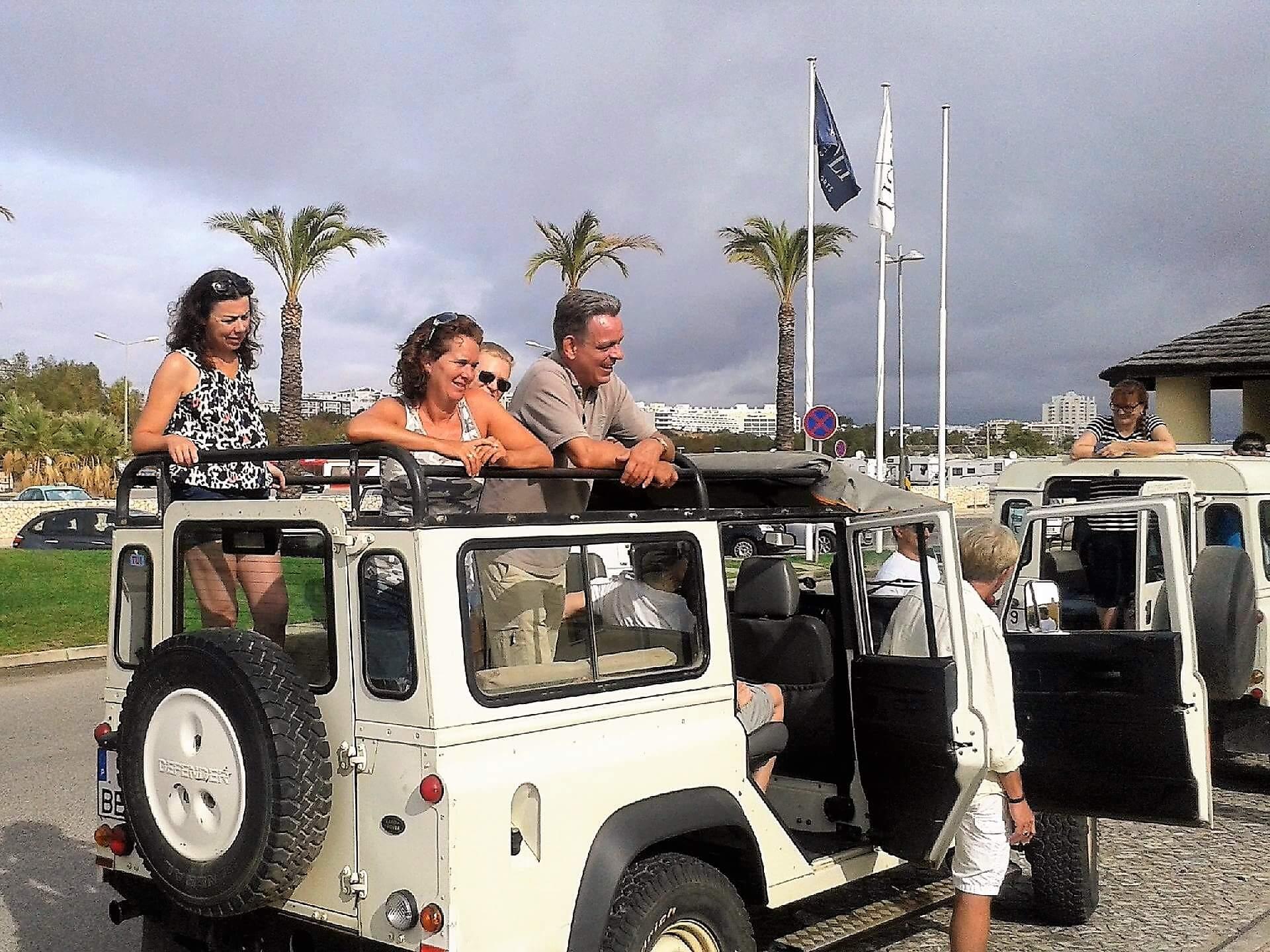 algarve 4wd land rover tour personeelsdag