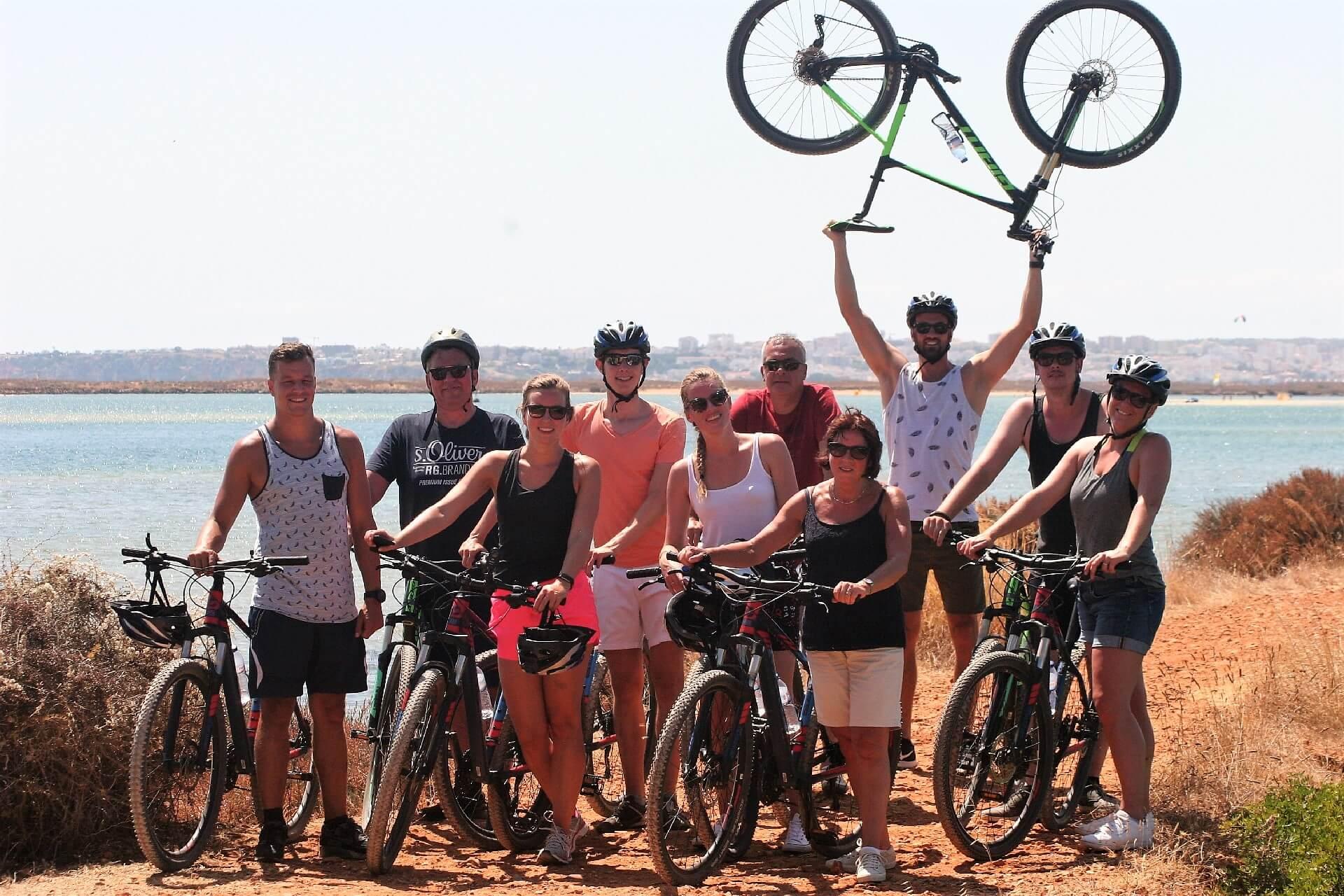 Algarve-Radtour mit Ihrem Team