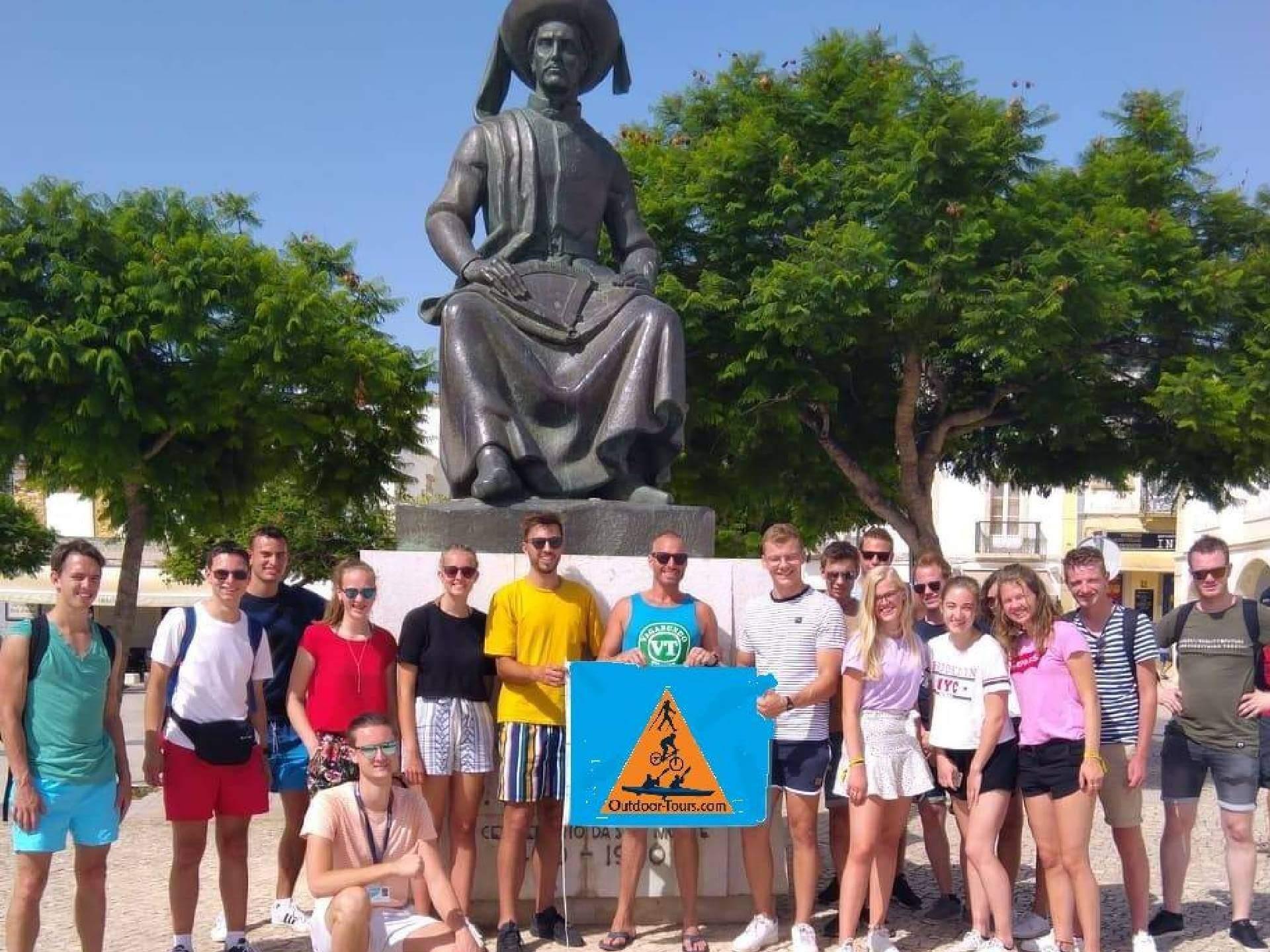 Algarve Stadtrundgang mit Mitarbeiterteam