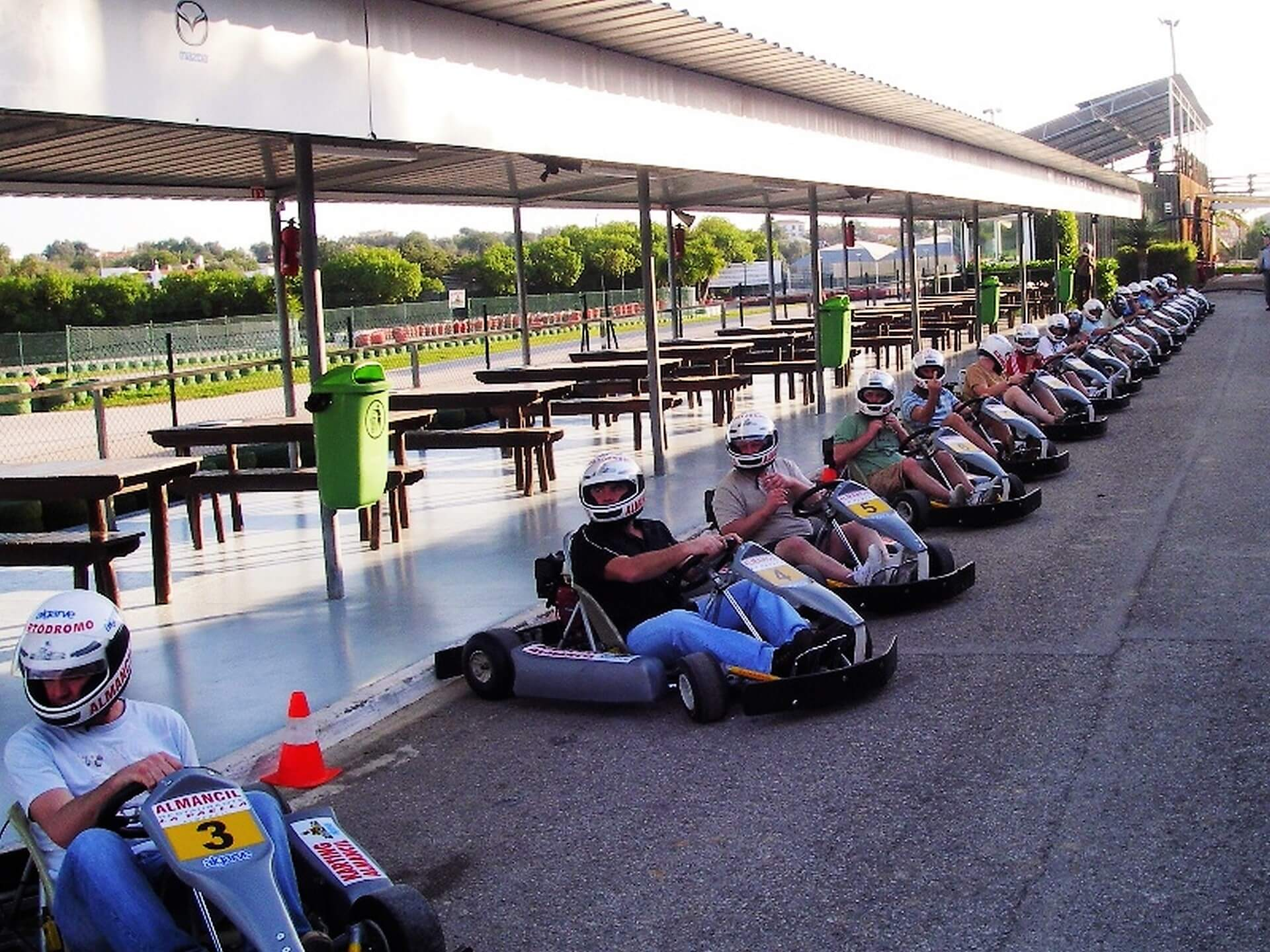 algarve go karting evenement