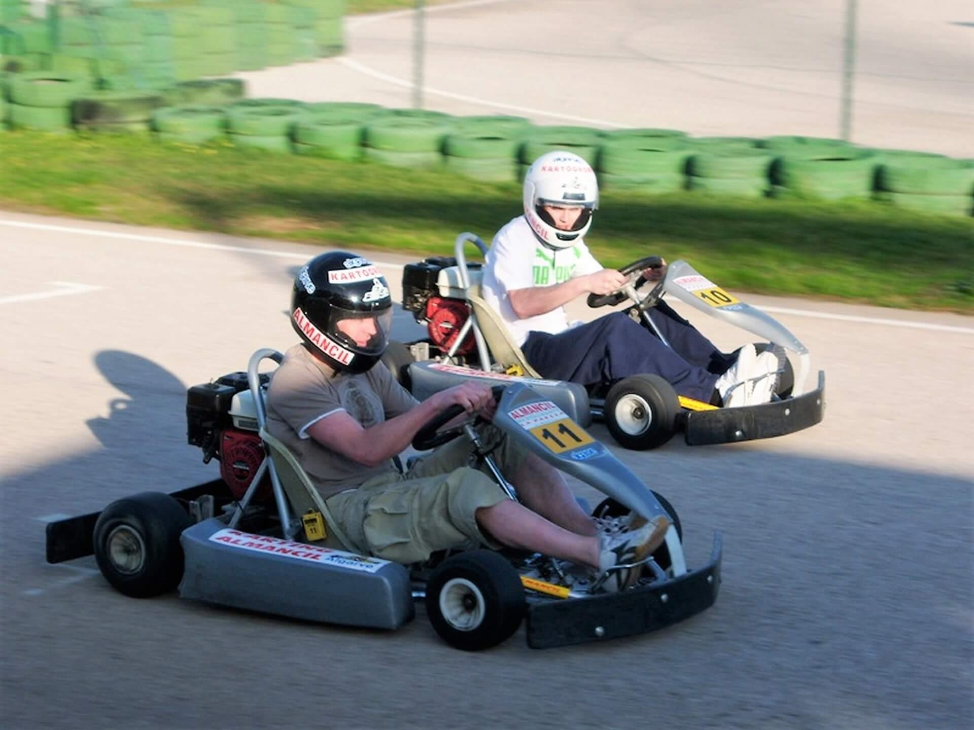 Algarve-Kartfahren