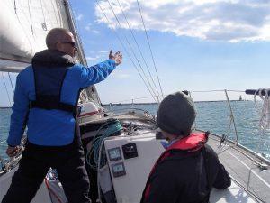 Anweisungen für Segelereignisse an der Algarve