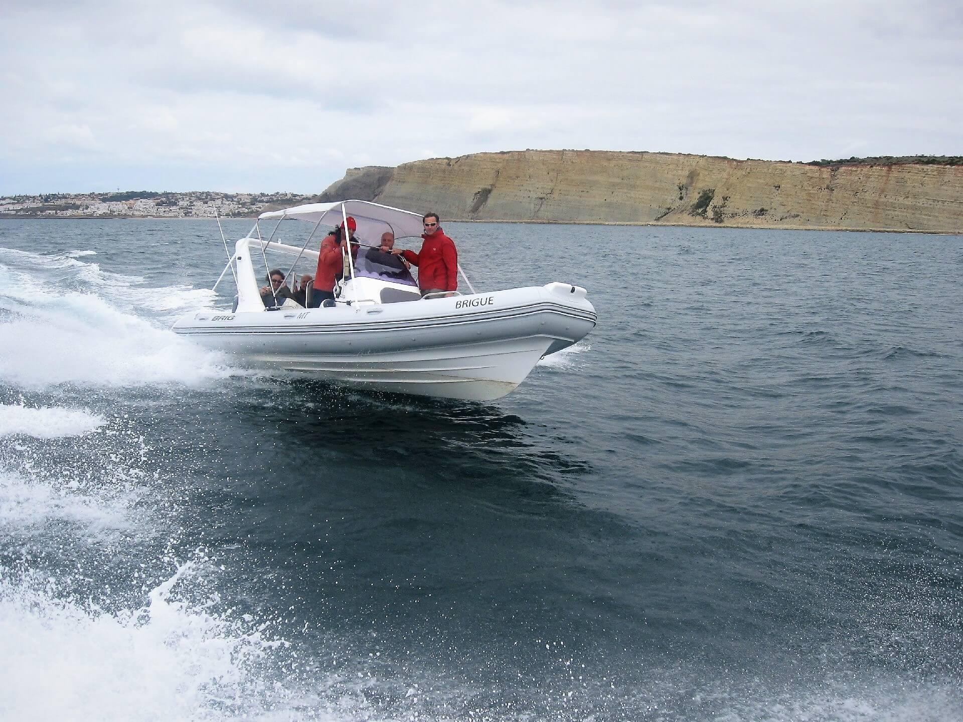Algarve Personal Tag mit dem Boot