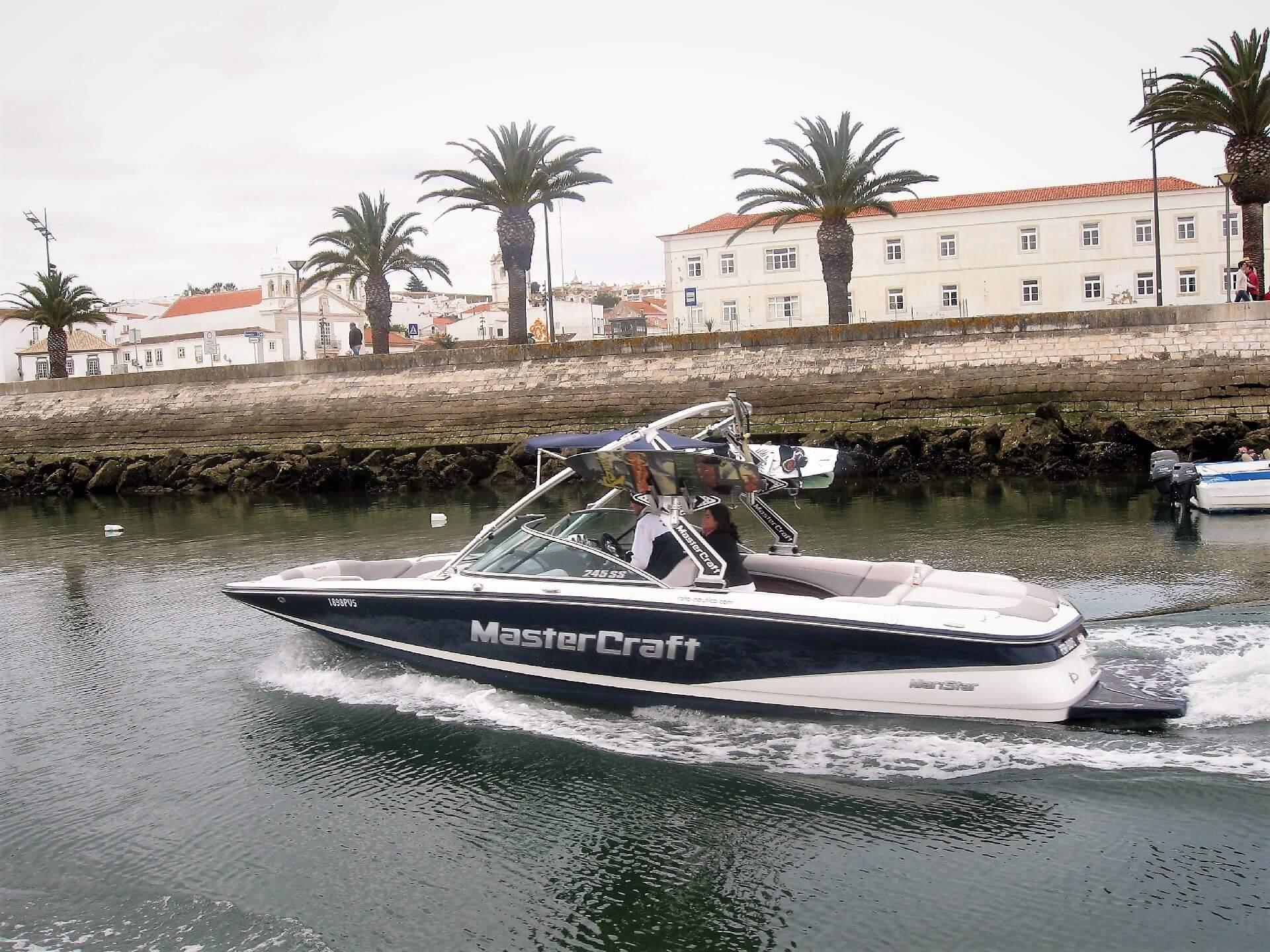 Algarve Mitarbeiter Tagesausflug mit dem Boot