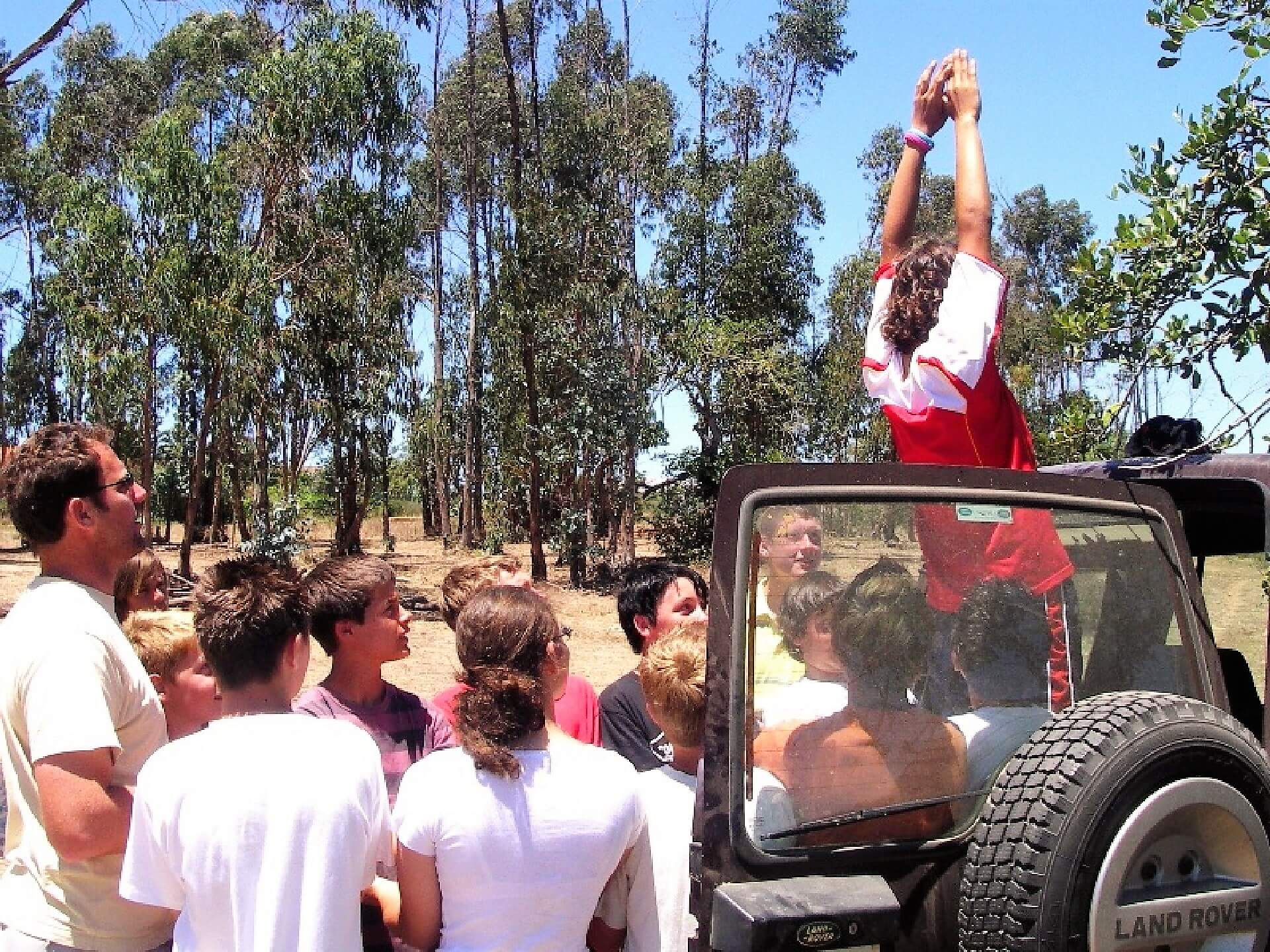 Algarve Teambuilding-Vertrauenstätigkeit