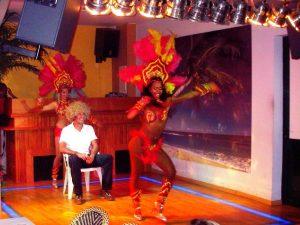 Brasilianische Tanzdiner-Show an der Algarve