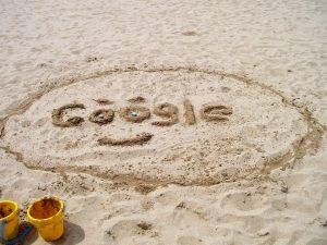 Mitarbeiter für Team-Tag in der Algarve googeln