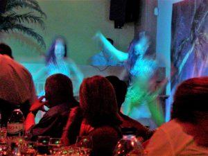 Diner-Show für Mitarbeiter an der Algarve