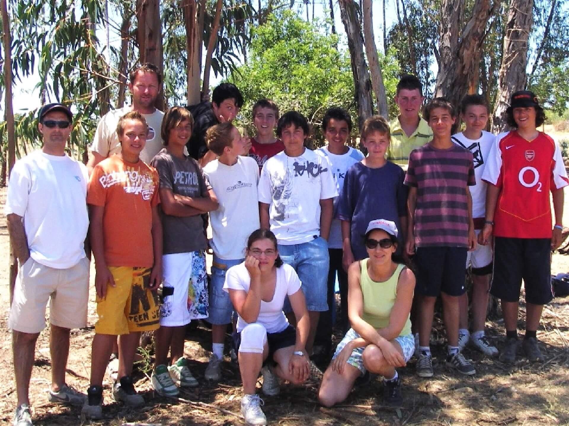 Mannschaftsausflug in die Natur an der Algarve